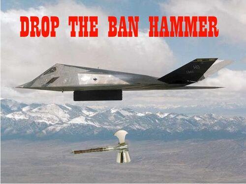 500px Banhammer view topic ban hammer