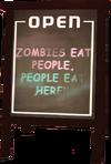 Dead rising Ad Board