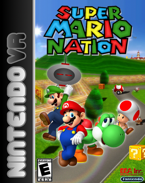 Super Mario Nation New Boxart