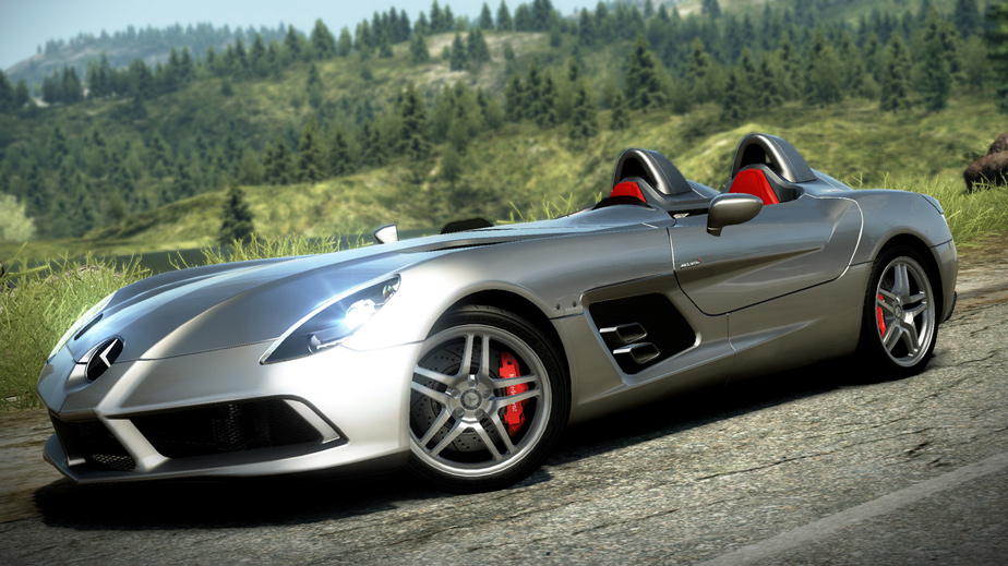 Mercedes Benz Slr Mclaren Stirling Moss Edition At The