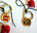 4185823 3 Virtues Logo Key Chain