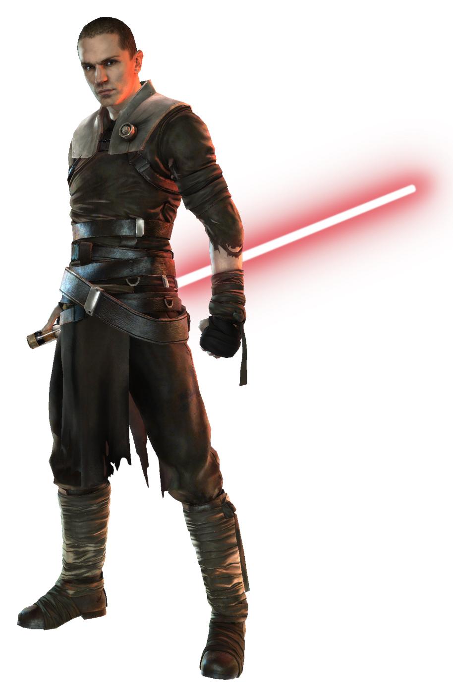 Тогда это дилогия игр sw the force unleashed с