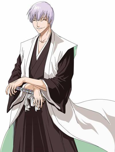 Gin ichimaru je bývalý kapitán 3 jednotky a jeho podkapitán je