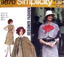 Simplicity 9870 A