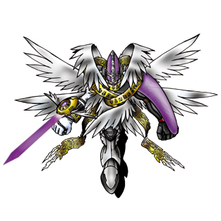 He appeared in ultimate omnitrix 2 in the form of ultimate angelhands