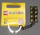 4553062 Gold Brick Key Chain