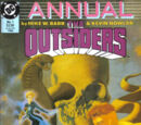 Outsiders Annual Vol 1 1