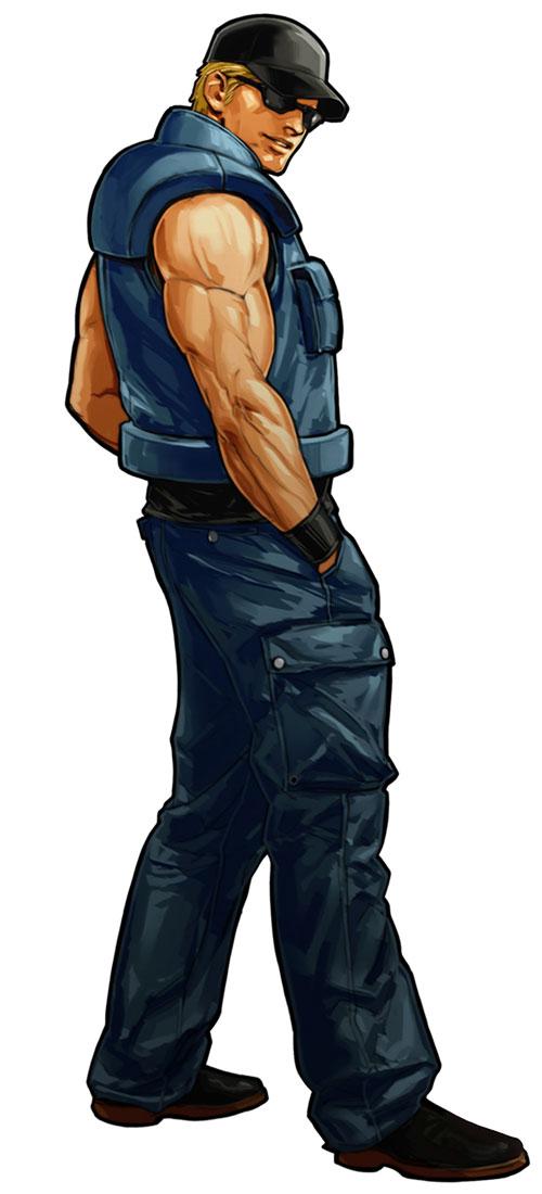 Imagen Clarkxi Jpg The King Of Fighters Wiki