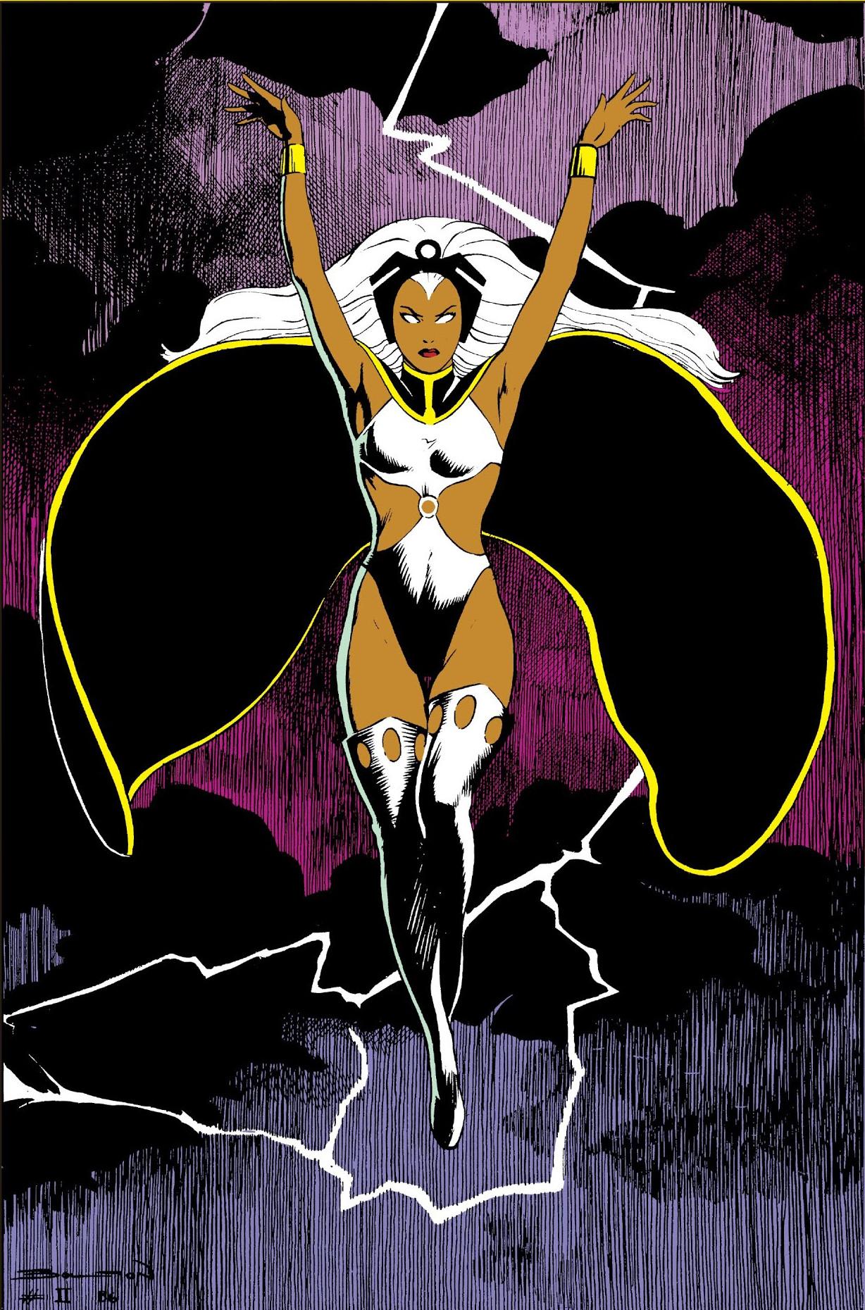 Storm's 1st costume