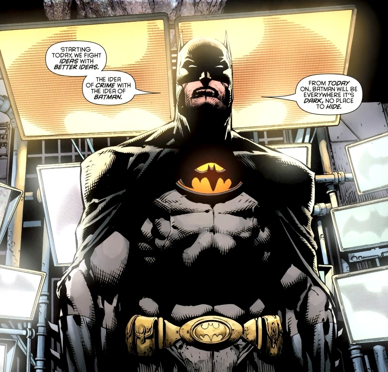 By Incorporated: The Redesigned Batman Incorporated Costume