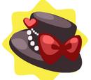 Cute Red Ribbon Hat