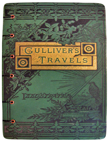 a literary analysis gullivers travels by jonathan swift Gulliver's travels, as the book is now known, first appeared anonymously capitalizing on the lively interest in voyages at the time, jonathan swift called it travels into several remote nations.