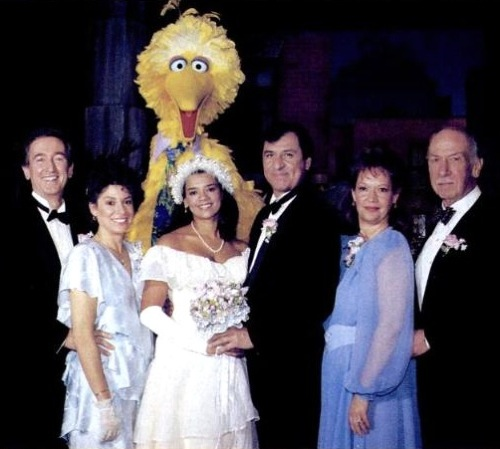 sesame street wedding