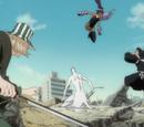Isshin Kurosaki, Kisuke Urahara y Yoruichi Shihōin vs. Sōsuke Aizen