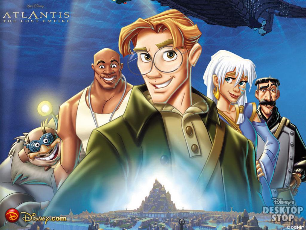 Qual o seu Top10 Clássicos Disney? Atlantis