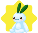 Snow Rabbit Plushie