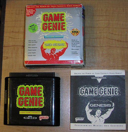 how to make sega genesis game genie codes