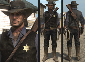 Red Dead Redemption Costume Cheats