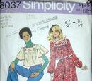 Simplicity 6037 A
