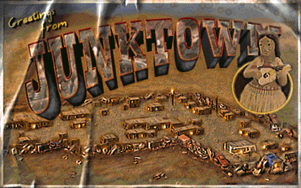 Let's Jogar: Fallout - A Post Nuclear Roleplaying Game Fo1_Junktown_Postcard