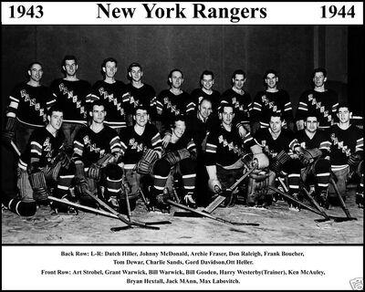 teams page york rangers