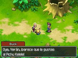 Conversando con Buck en Isla Dolzor