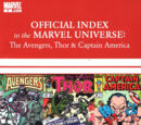 Avengers, Thor & Captain America: Official Index to the Marvel Universe Vol 1 9