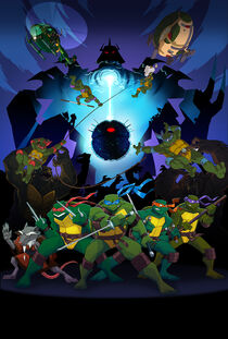 Turtles Forever Poster by E Mann