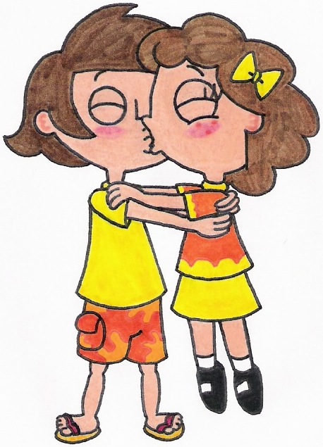 Image - Django and Milly Kissing.jpg - Phineas and Ferb ...