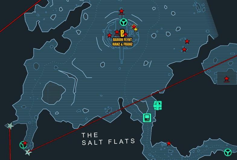 salt flats machine gun