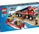 7213 Lego Off-Road Fire Truck & Fireboat
