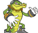 Vector the Crocodile (Pre-Super Genesis Wave)