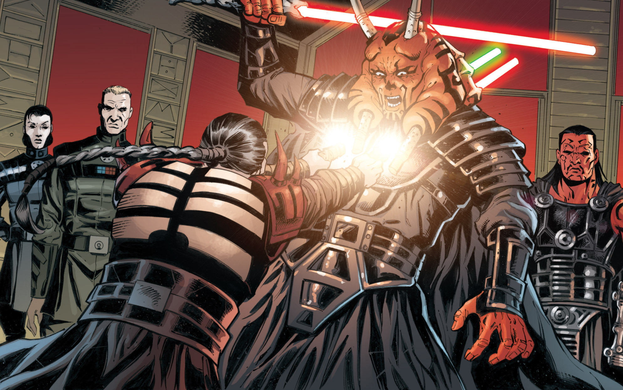 Darth Krayt vs Darth Malgus Darth Krayt Kills Darth
