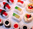 DaedalusHowell/Sushi Cupcakes