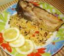 Carp on Rice