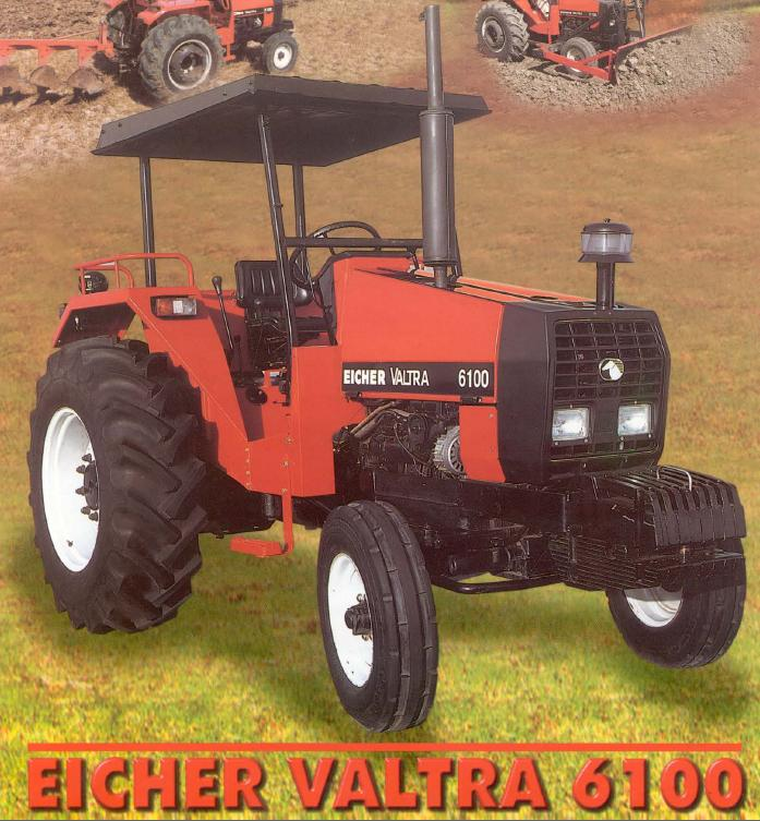 Eicher valtra 6100 tractor construction plant wiki for Eicher motors share price forecast