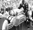 Battle Angel Alita: Last Order vehicles