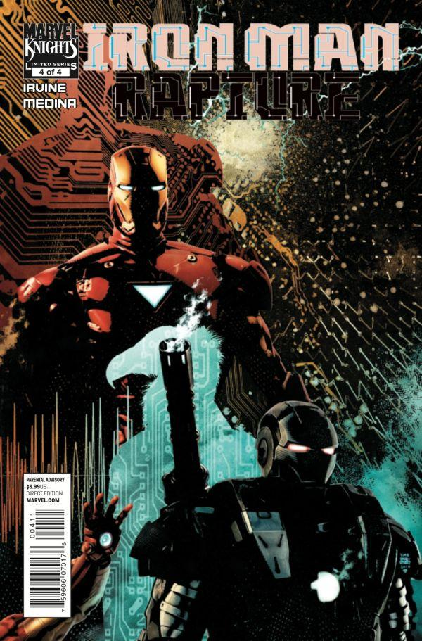 Iron Man Rapture Iron Man The Rapture Vol 1 4