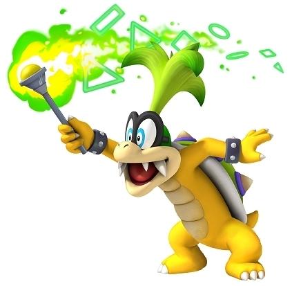 Guía New Super Mario Bros U Iggy
