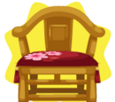 Chinese Gold Chair