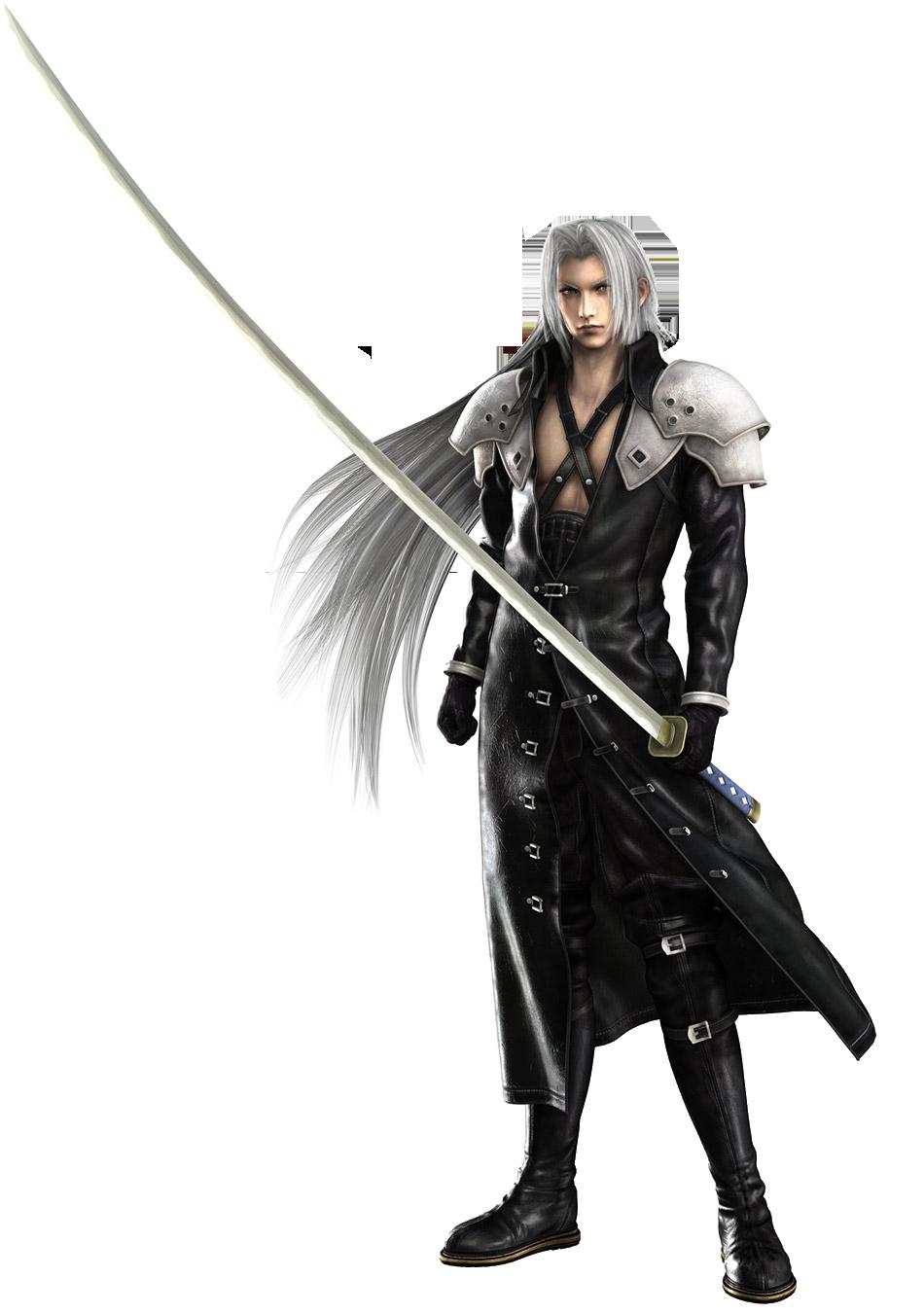 Dissidia: Of Harmony and Discord SephirothCGModel-CrisisCore