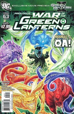Cover for Green Lantern #63 (2011)