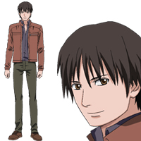 Gunslinger girl il teatrino jose is seen with dark brown hair and