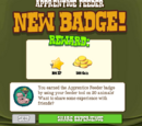 Apprentice Feeder Badge