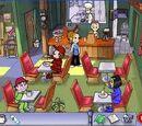 Diner Dash's restaurants