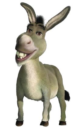 Shrek the GAME SPPPEDRUN Donkey-transparent