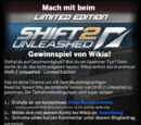MtaÄ/Shift 2 Unleashed Limited Edition Gewinnspiel