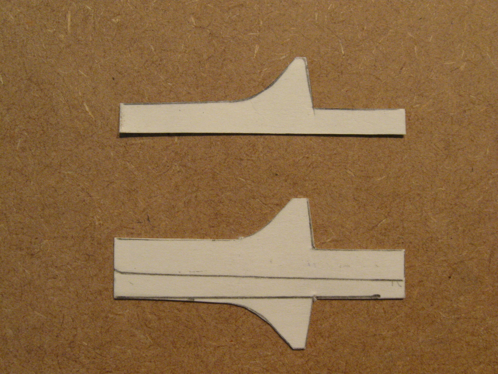 how to cut flush lines when model making
