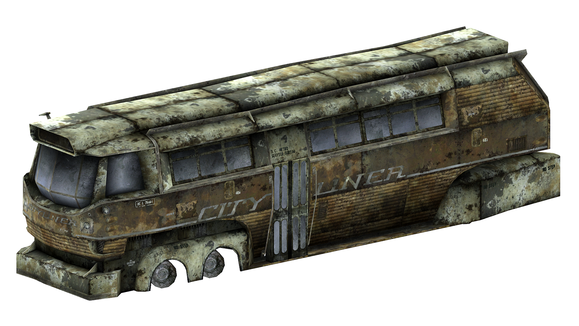 City Liner - The Fallout wiki - Fallout: New Vegas and more