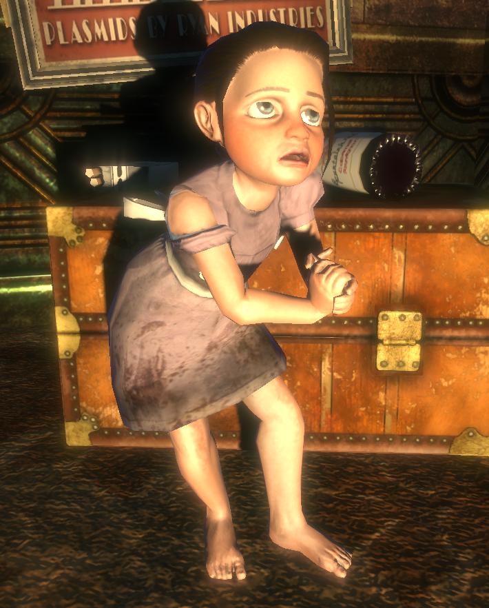 Little sister salvada for Bioshock jardin de las recolectoras